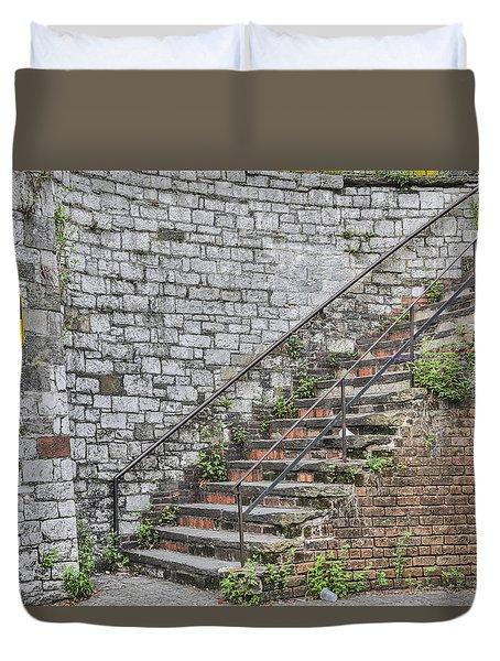 Historic Steps Duvet Cover