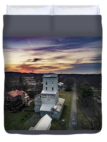 Historic Sunset Duvet Cover