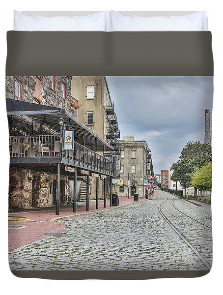 Historic Walk Duvet Cover