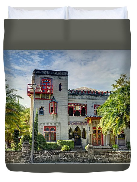 Historic Zorayda Castle Duvet Cover
