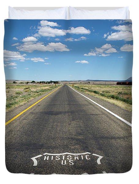 Historica Us Route 66 Arizona Duvet Cover