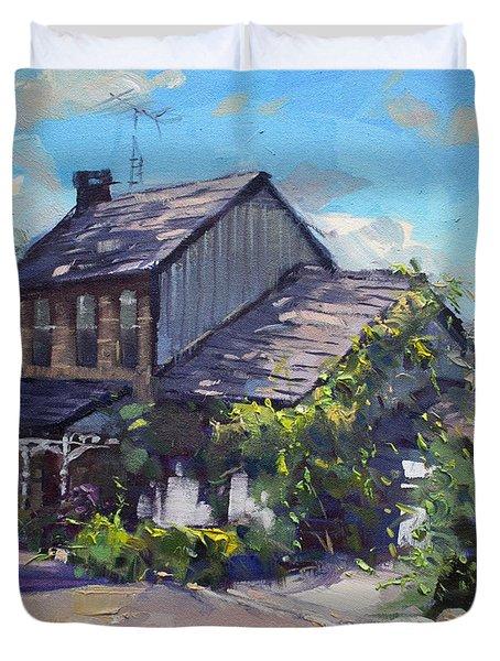 Historical House Ontario Duvet Cover