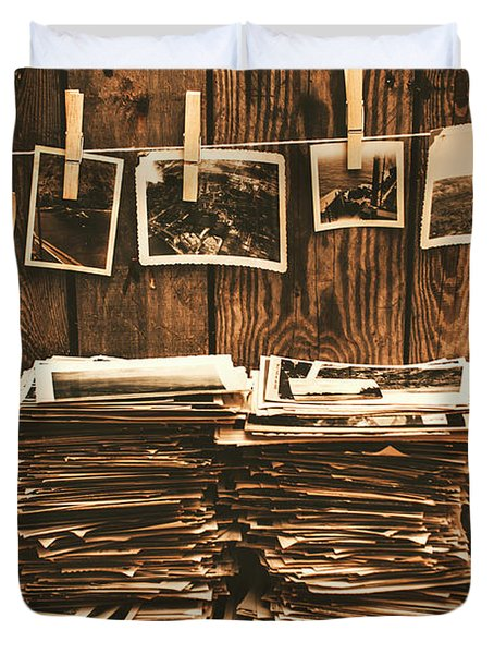 Historical Picture Archive Duvet Cover