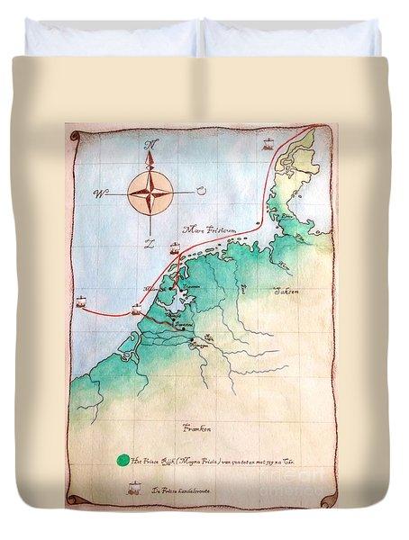 Magna Frisia- Frisian Kingdom Duvet Cover