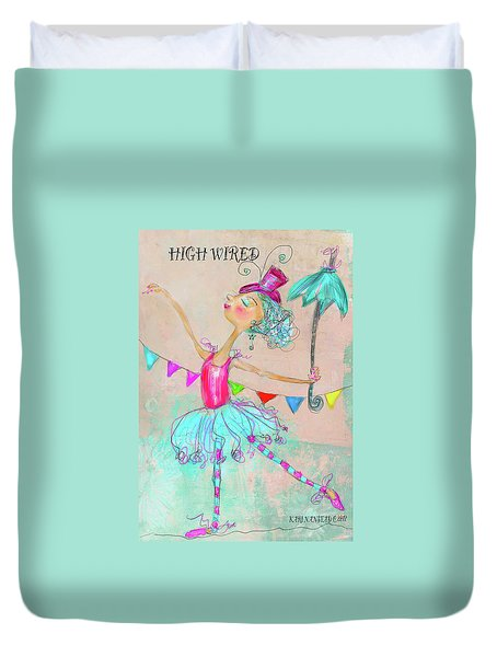 Hiwired Duvet Cover