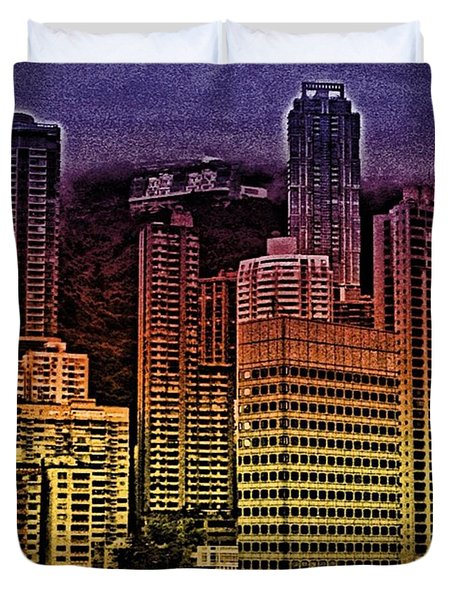 #hk In #technicolor - View From Duvet Cover