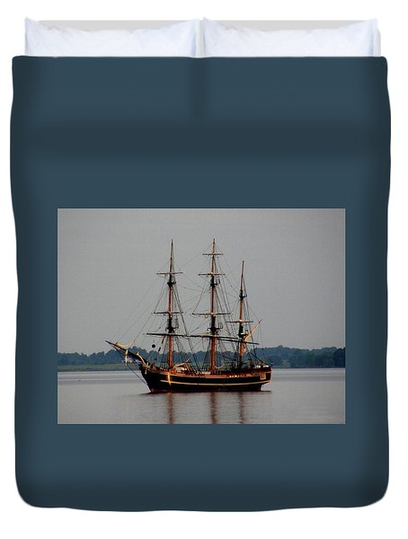 Hms Bounty  Duvet Cover