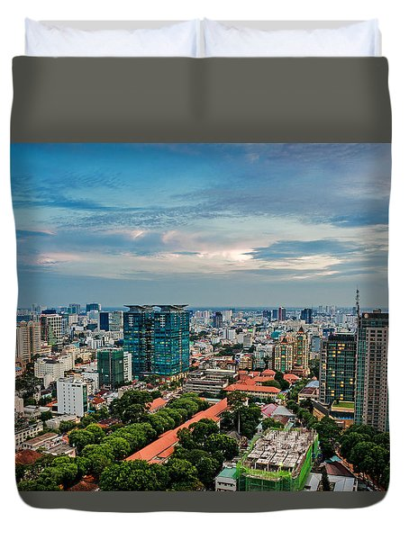 Ho Chi Minh City Duvet Cover
