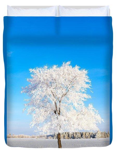 Hoar Frost Duvet Cover