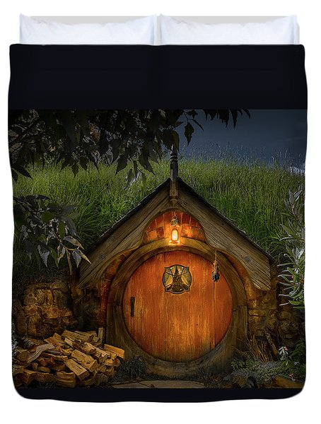 Hobbit Dwelling Duvet Cover