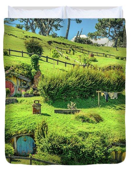 Hobbit Hills Duvet Cover