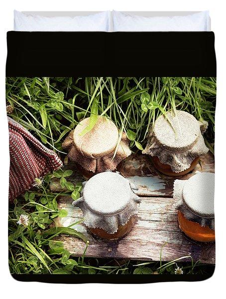 Hobbit Honey Duvet Cover