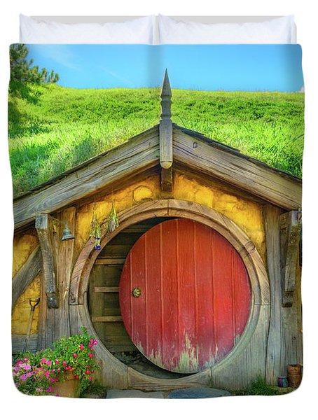 Hobbit House Duvet Cover