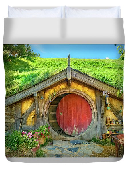 Hobbit House Duvet Cover