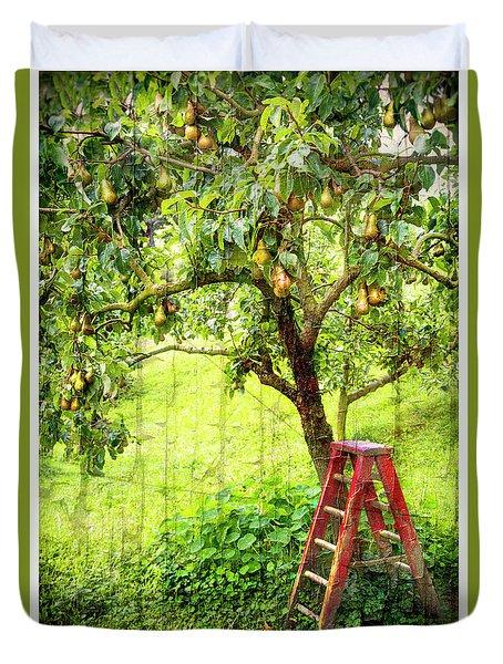 Hobbit Pear Tree Duvet Cover