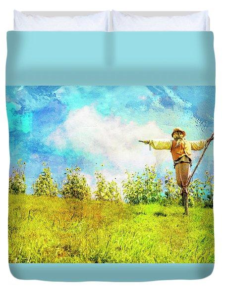Hobbit Scarecrow Duvet Cover
