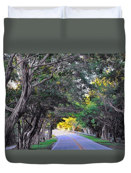 Hobe Sound, Fla Duvet Cover