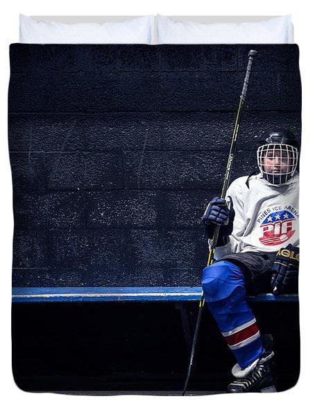 Hockey Strong Duvet Cover
