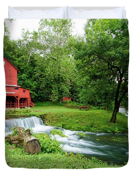 Hodgson Water Mill And Spring Duvet Cover