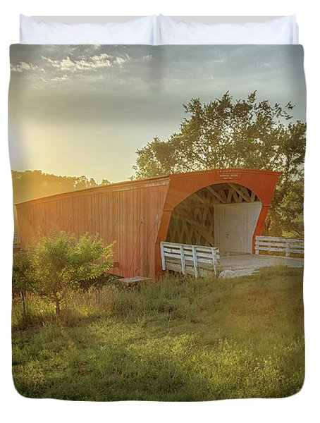 Hogback Covered Bridge 2 Duvet Cover