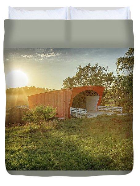 Hogback Covered Bridge 2 Duvet Cover