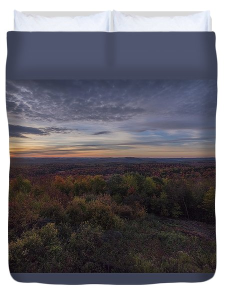 Hogback Morning Duvet Cover by Tom Singleton