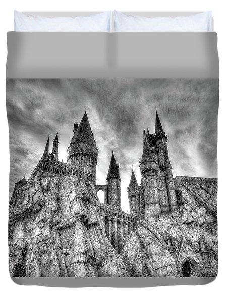 Hogwarts Castle 1 Duvet Cover by Jim Thompson