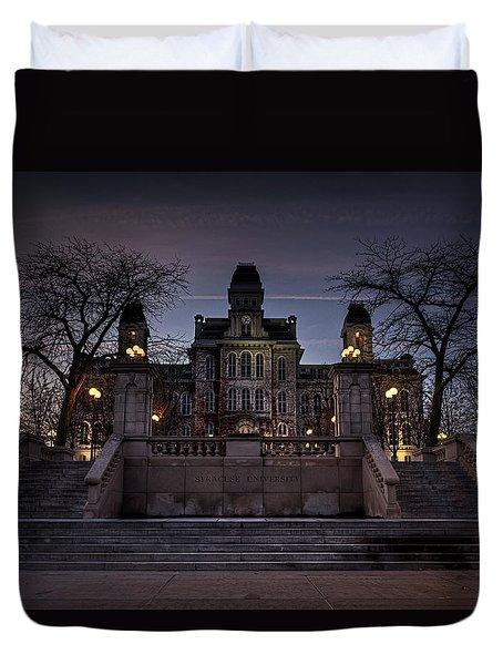 Hogwarts - Hall Of Languages Duvet Cover by Everet Regal