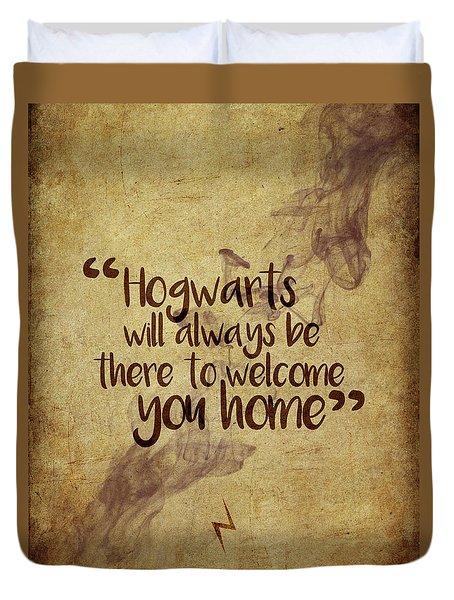 Hogwarts Is Home Duvet Cover