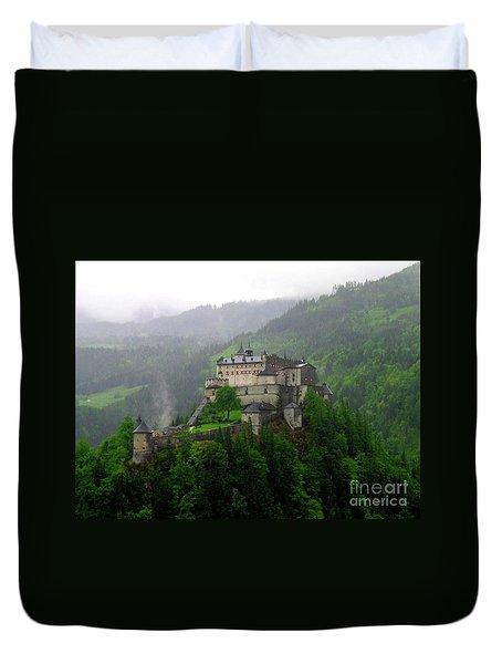 Hohenwerfen Castle Duvet Cover