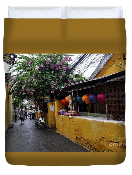 Hoi An Street Duvet Cover
