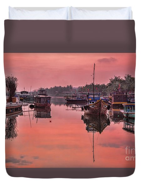 Hoi An Sunset  Duvet Cover