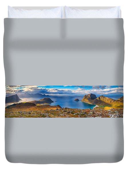 Holandsmelen Panorama Duvet Cover