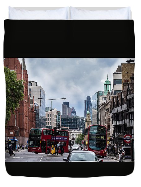 Holborn - London Duvet Cover