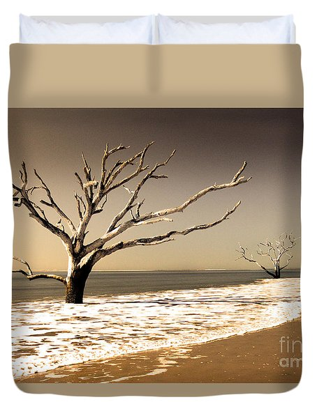 Duvet Cover featuring the photograph Hold The Line by Dana DiPasquale