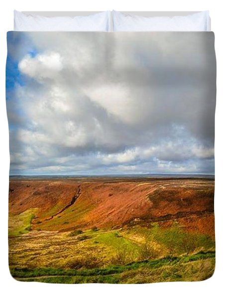 Hole Of Horcum, North York Mores, Yorkshire, United Kingdom Duvet Cover