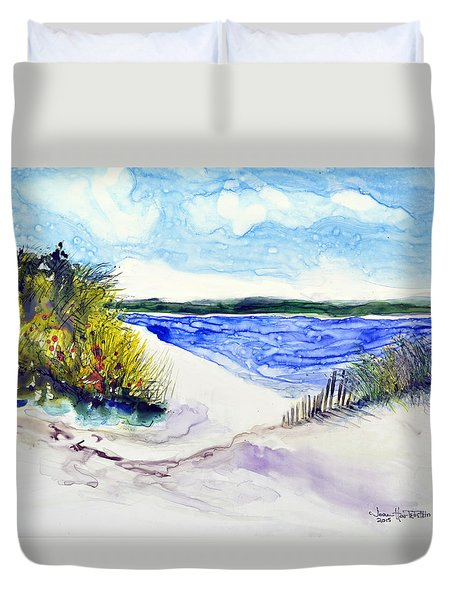 Hole In The Cove Duvet Cover