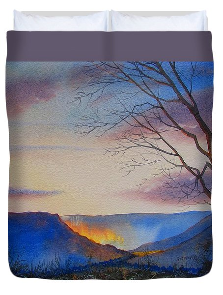 Hole Of Horcum Duvet Cover