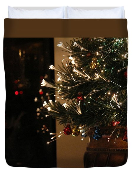 Holiday Attire Duvet Cover by Yvonne Wright