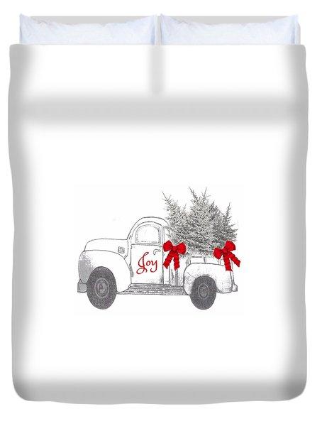 Holiday Joy Chesilhurst Farm Duvet Cover