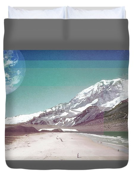 Holiday Duvet Cover by Kathryn Cloniger-Kirk