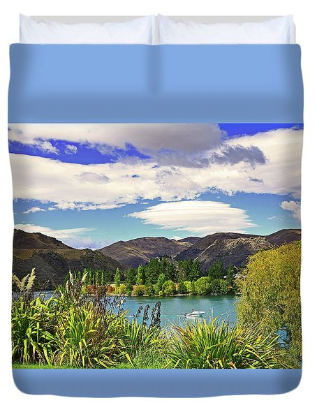 Duvet Cover featuring the photograph Holiday Place by Nareeta Martin