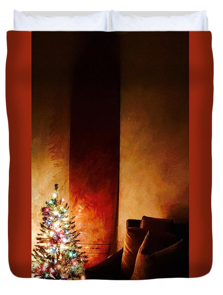 Holiday Surfboard Duvet Cover
