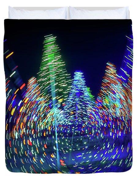 Holidays Aglow Duvet Cover