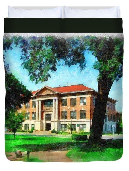 Holland City Hall Duvet Cover