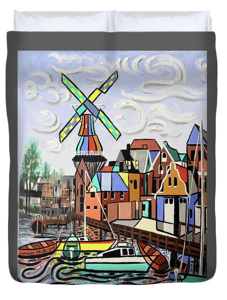 Holland Not Just Tulips And Windmills  Duvet Cover