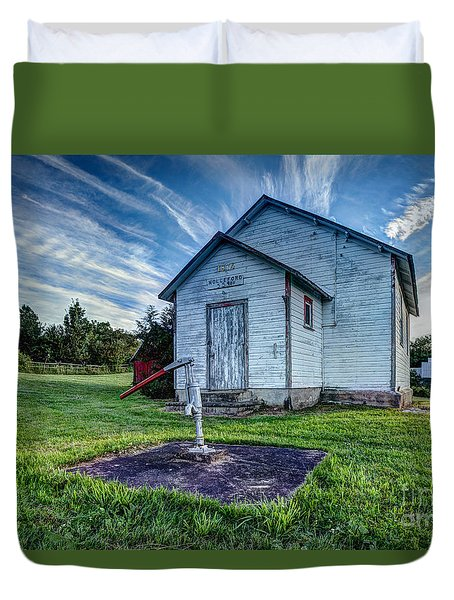 Holleford Schoolhouse Duvet Cover