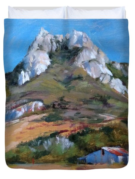 Hollister Peak Duvet Cover