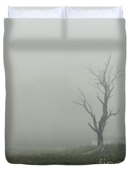 Hollow Duvet Cover by Andrew Paranavitana