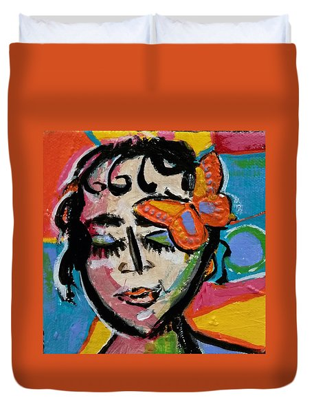 Holly - Vivid Vixen Duvet Cover